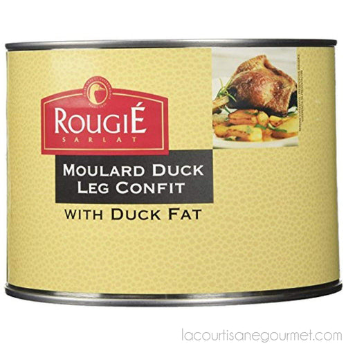 Rougie - Duck Legs Confit With Duck Fat, 4 Legs, 52.91Oz (1.500Kg) - Duck - La Courtisane Gourmet Food