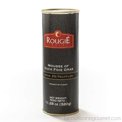 Rougie - Mousse Of Duck Foie Gras With 2% Truffles 11.28 Oz (320G) - Foie Gras - La Courtisane Gourmet Food
