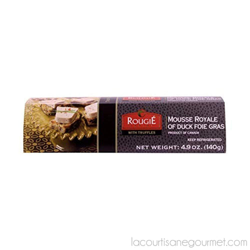 Rougie - Mousse Royal Of Duck Foie Gras W/ Truffles, 4.9Oz (140G) - Foie Gras - La Courtisane Gourmet Food