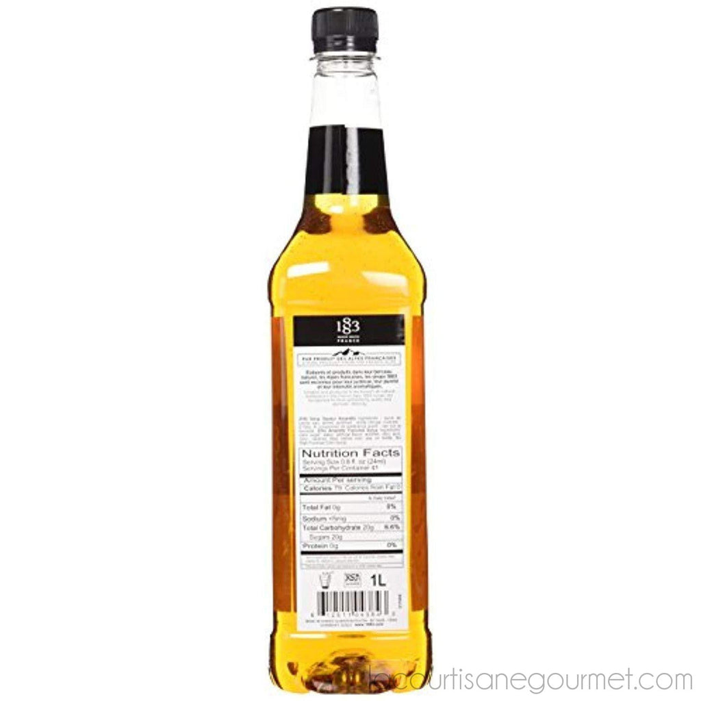 Routin 1883 Pet Amaretto Syrup - 1 Liter Bottle - Syrup - La Courtisane Gourmet Food