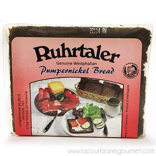 Ruhrtaler - German Pumpernickel Bread 8.8 oz - Bread - La Courtisane Gourmet Food