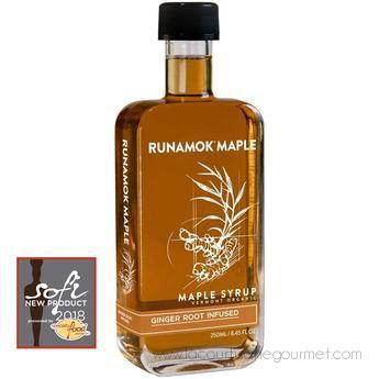 Runamok Maple - Ginger Root Infused Organic Maple Syrup 250 Ml - Maple Syrup - La Courtisane Gourmet Food