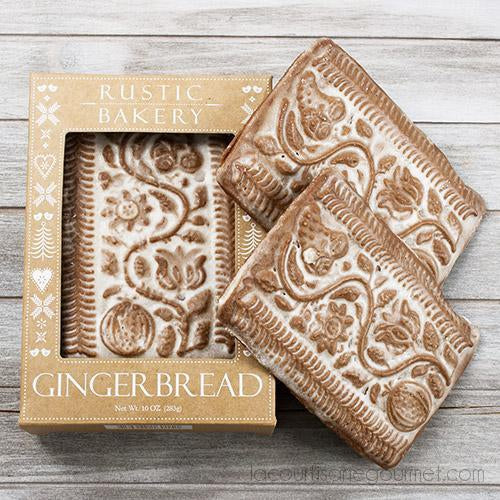 Rustic Bakery - Glazed Gingerbread Tiles 10 Oz - - La Courtisane Gourmet Food