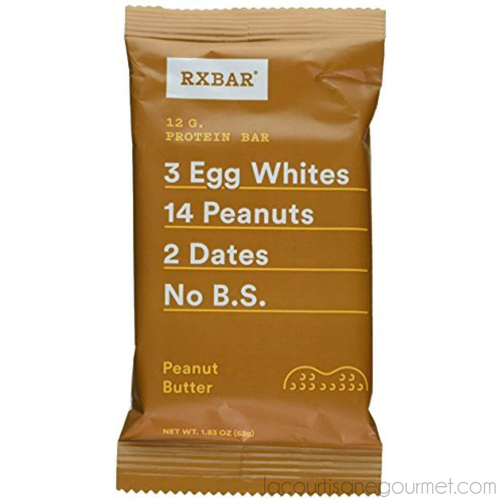 Rx Bar Protein Bar, Peanut Butter, 1.83 Oz (12 Count) - Bar - La Courtisane Gourmet Food