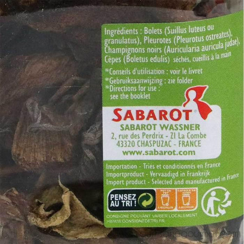 Sabarot - Dried Mixed Forest Mushrooms, 40g (1.4 oz) - Mushroom - La Courtisane Gourmet Food