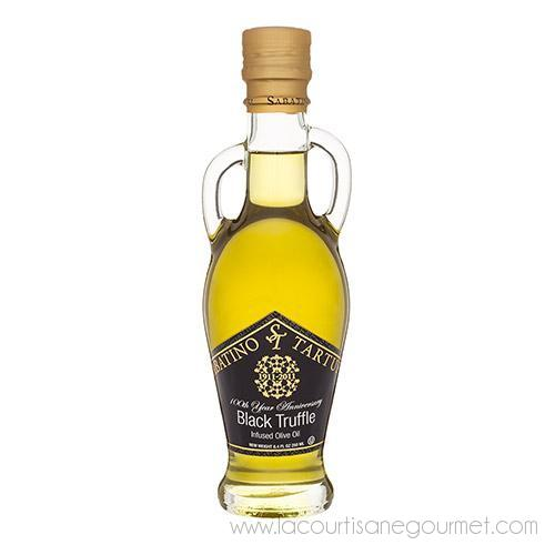 Sabatino Tartufi - Black Truffle Infused Olive Oil 8.4 Oz - Olive Oil - La Courtisane Gourmet Food