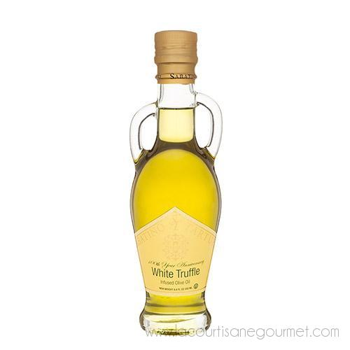 Sabatino Tartufi - White Truffle Infused Olive Oil 8.45 Fl Oz - Olive Oil - La Courtisane Gourmet Food