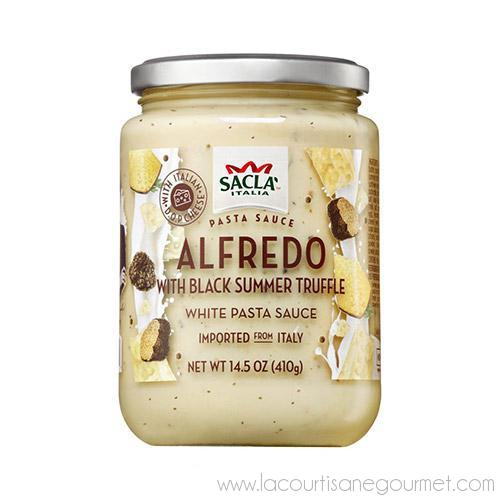 Sacla - Alfredo Sauce with Truffle 14.5 oz - Pasta Sauce - La Courtisane Gourmet Food