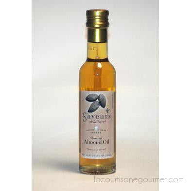 Saveurs De La Terre - Toasted Almond Oil (8.4 Ounce) - Almond Oil - La Courtisane Gourmet Food