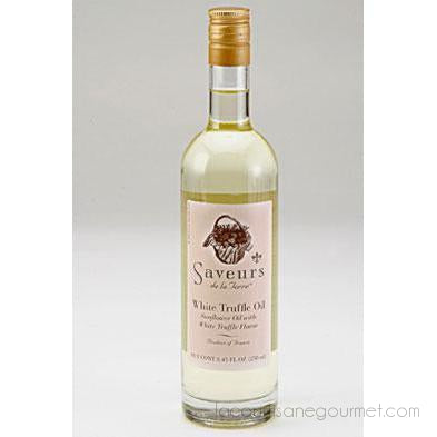 Saveurs De La Terre - White Truffle Sunflower Oil, 1.69 Ounce Bottle - truffle oil - La Courtisane Gourmet Food
