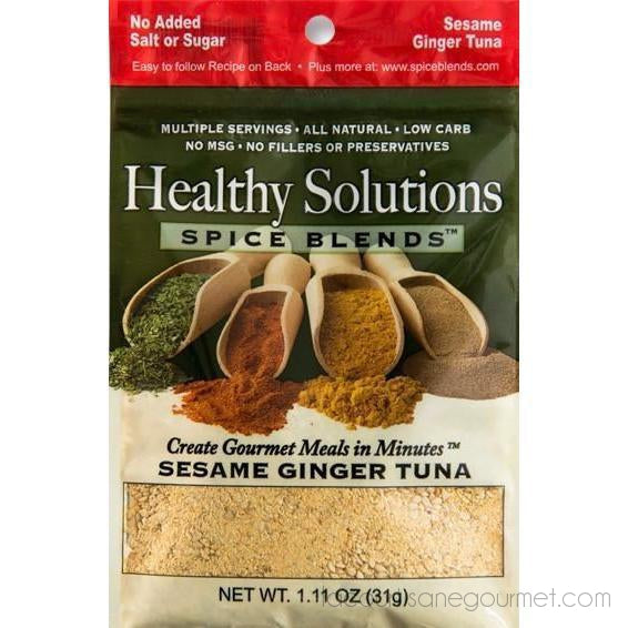 Sesame Ginger Tuna - Product - La Courtisane Gourmet Food