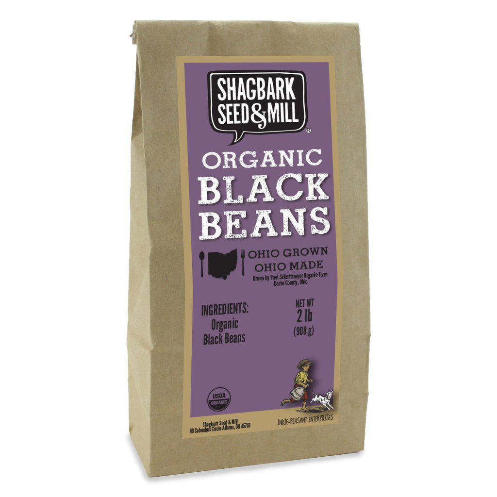 Shagbark's Sheed&Mill - Organic Black Beans (Black Turtle Beans) - Beans - La Courtisane Gourmet Food