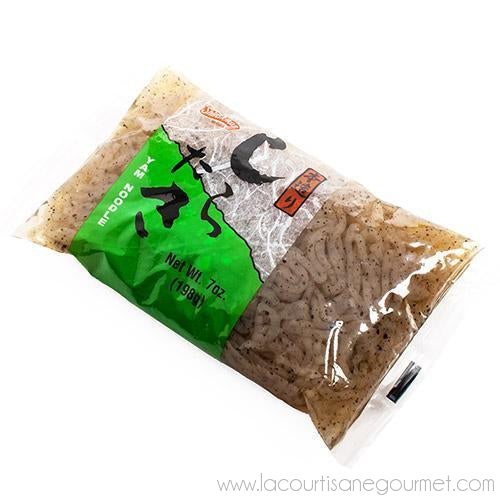 Shirakiku - Black Shirataki Noodles 0.806 oz - Noodle - La Courtisane Gourmet Food