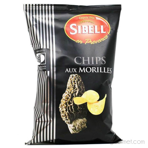 Sibell - Morel Flavored Potato Chips, 3.5oz Bag - Crackers - La Courtisane Gourmet Food