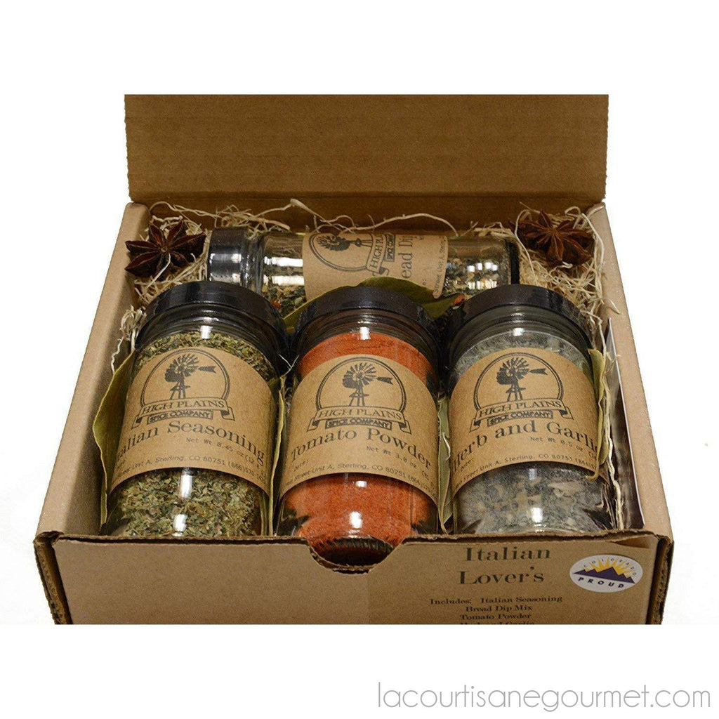 Smokehouse Favorites ~ Bbq Rub And Spices Gift Set ~ High Plains Spice Company Gift Set ~ Gourmet Meat Spice Blends & Rubs For Beef, Chicken & All Recipes ~ Spice... - seasonning - La Courtisane Gourmet Food