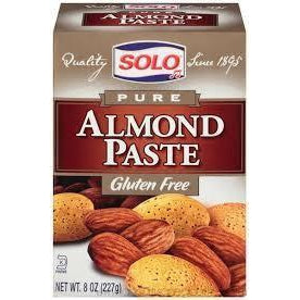 Solo - Almond Paste (Box) 8 oz - Baking Ingredients - La Courtisane Gourmet Food