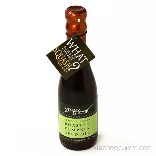 Stony Brook - Roasted Pumpkin Seed Oil (187 ml) - Oil - La Courtisane Gourmet Food