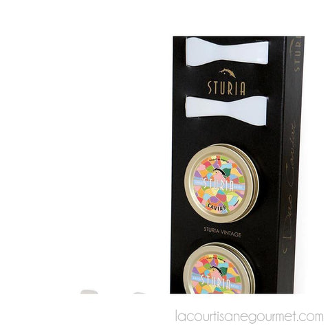 Sturia - Discovery Vintage Box 2 X 0.35Oz (2 X 10G) - Caviar - La Courtisane Gourmet Food