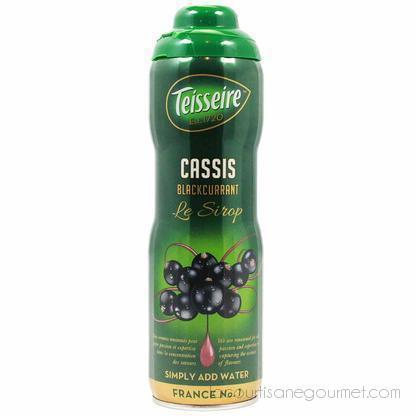 Teisseire French Blackcurrant Syrup 20 Oz - Syrup - La Courtisane Gourmet Food