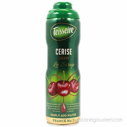 Teisseire French Cherry Syrup 20 Oz - Syrup - La Courtisane Gourmet Food