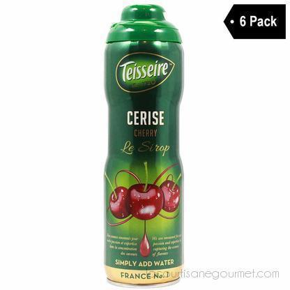 Teisseire French Cherry Syrup (20 Oz. X 6) - Syrup - La Courtisane Gourmet Food