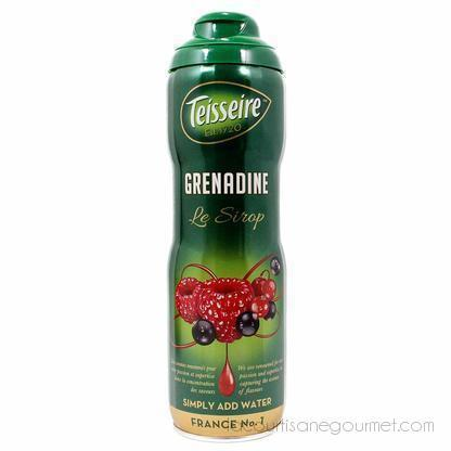 Teisseire French Grenadine Syrup 20 Oz - Syrup - La Courtisane Gourmet Food