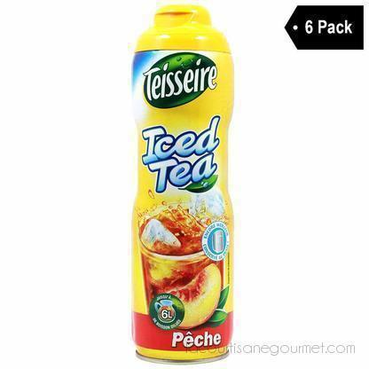 Teisseire French Iced Tea Syrup (20 Oz. X 6) - Syrup - La Courtisane Gourmet Food