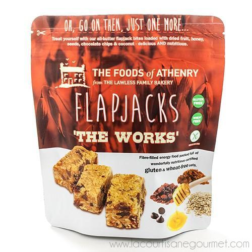 The Foods of Athenry - Irish Flapjacks (The Works) 5.5 oz - Cereal Bar - La Courtisane Gourmet Food