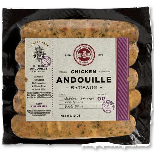 Three Little Pigs - Chicken Sausage With Spices 10 Oz - Sausage - La Courtisane Gourmet Food