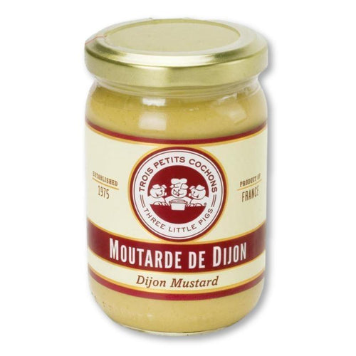 Three Little Pigs - Dijon Mustard 7 Oz - Mustard - La Courtisane Gourmet Food