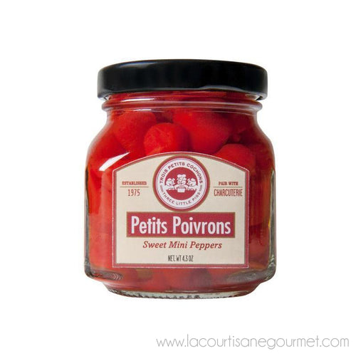 Three Little Pigs - Sweet Mini Peppers 4.3 Oz - Canned Goods - La Courtisane Gourmet Food