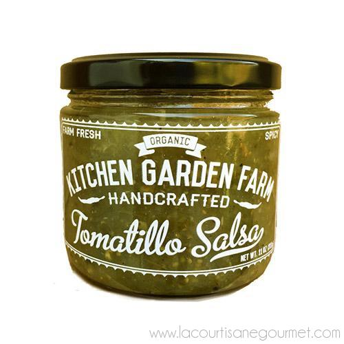 Tomatillo Salsa 8 oz - Salsa Sauce - La Courtisane Gourmet Food