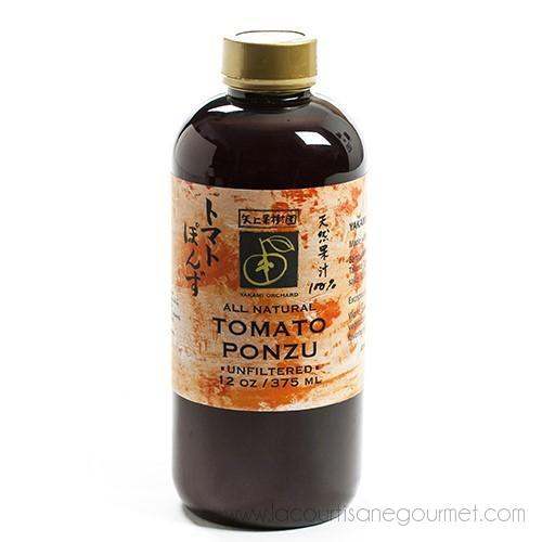 Tomato Ponzu 12 oz - Tomato Sauce - La Courtisane Gourmet Food