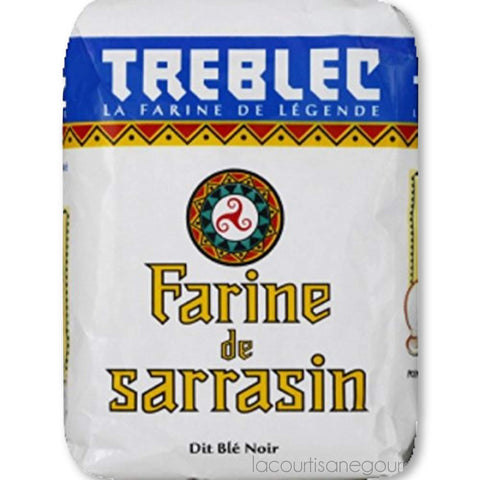 Treblec Farine De Sarrasin - Buckwheat Flour From Brittany - 2.2 Lbs (2 Pack) - wheat flour - La Courtisane Gourmet Food