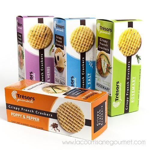 Tresors Gourmands - Crispy French Waffle Crackers - cookies - La Courtisane Gourmet Food