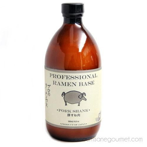 Tsuki - Pork Shank Professional Ramen Base 500 Ml - Soy Sauce - La Courtisane Gourmet Food