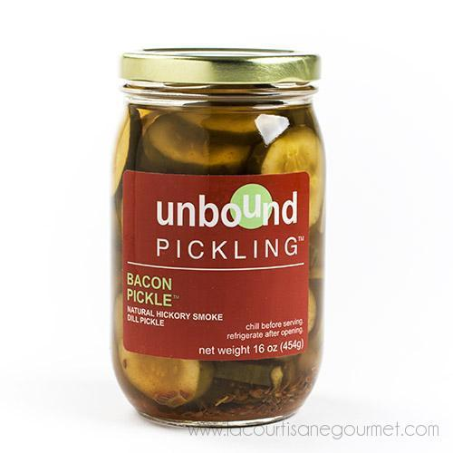 Unbound Pickling - Bacon Pickle 16 oz - Pickles - La Courtisane Gourmet Food