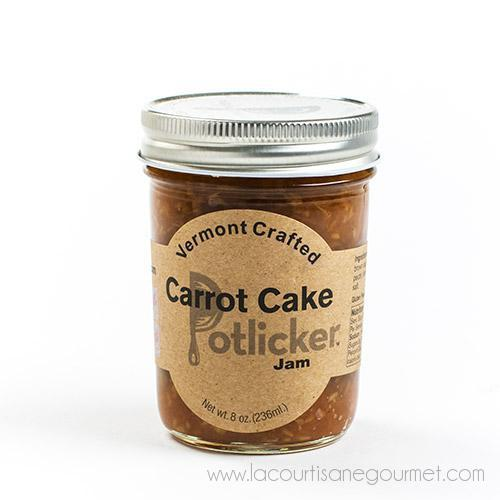 Vermont - Crafted Carrot Cake Potlicker Jam 9 Oz - Cake - La Courtisane Gourmet Food