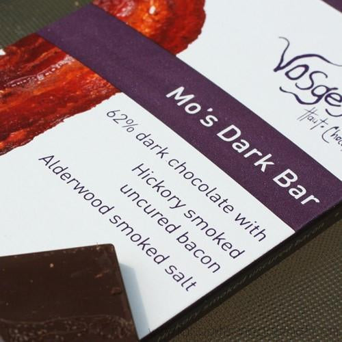 Vosges Haut-Chocolat - Chocolate and Bacon Candy Bar - Dark 3 oz - Chocolate Bars - La Courtisane Gourmet Food