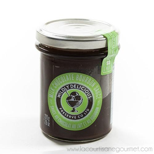 Wildly Delicious's - Chocolate Bourbon Sauce 220 grams - Sauce - La Courtisane Gourmet Food