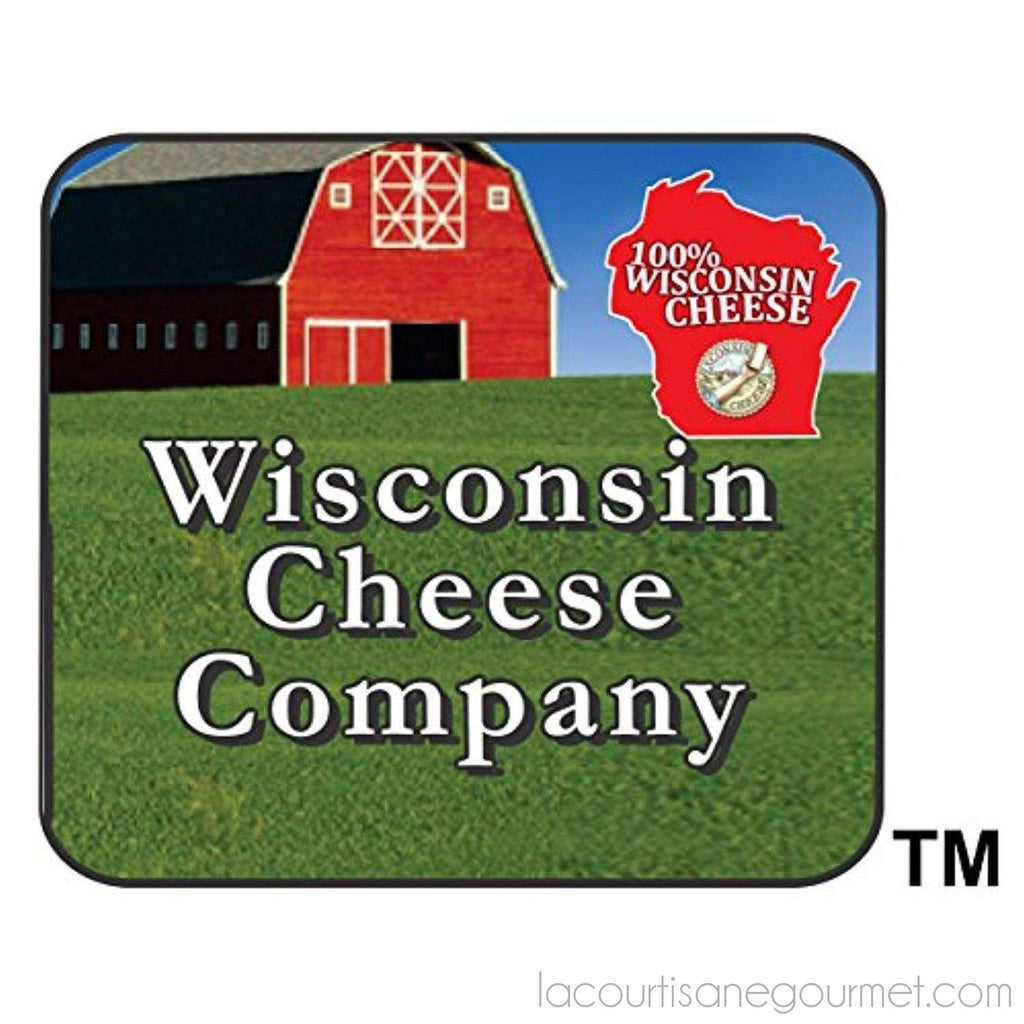 Wisconsin'S Best - Smoked Summer Sausage - Jalapeno & 100% Wisconsin Cheddar Cheese - Naturally Hickory Smoked - 12 Oz - Slice And Eat - Sausage - La Courtisane Gourmet Food