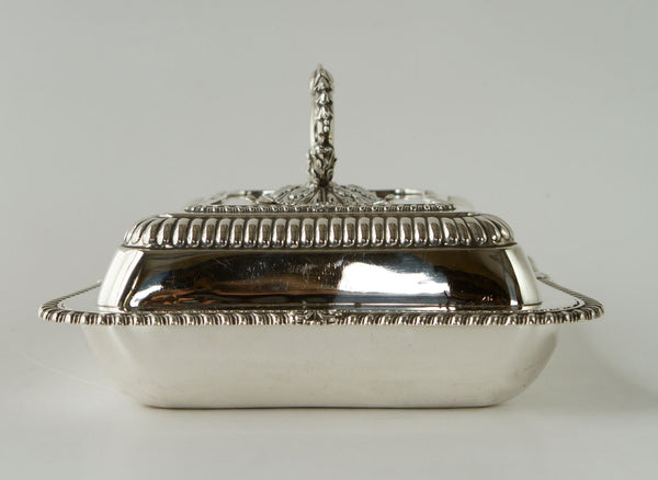 A Very Fine Georgian  Silver Entree Dish London 1826 by William Eaton