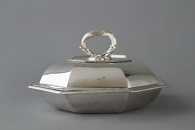 A Very Fine Georgian Silver Entree Dish London 1795 by Henry Green