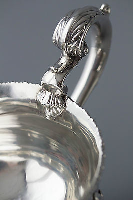 A Beautiful Pair of Heavy George III Silver Sauce Boats, Richard Mills, Lon 1765
