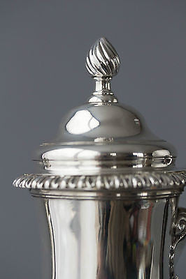 A George III Silver Coffee Pot London 1768 by Whipham & Wright