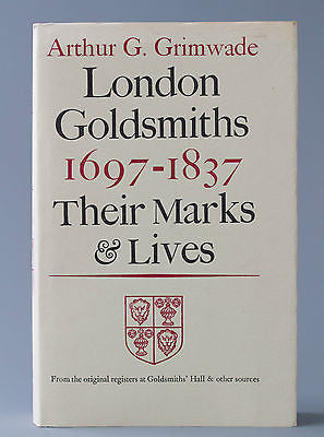 A Very Good First Edition of Arthur Grimwade's Silver and Gold Marks