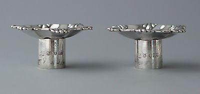 A Very Good Pair of Silver Table Candlesticks Sheffield 1839 by SW and Co.