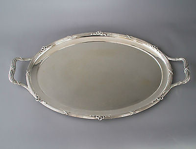 A Very Fine Silver Tea/Drinks Tray by Goldsmiths and Silversmiths London 1910