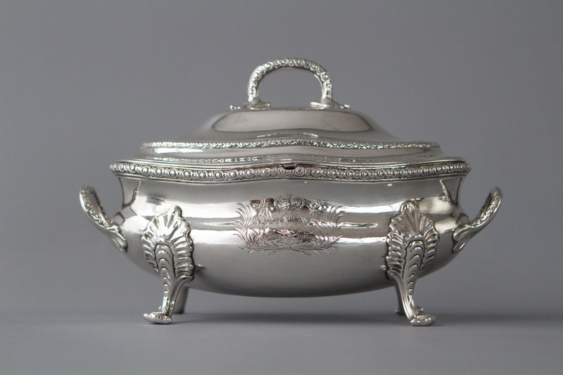 Speaker Smith, Political Interest: A Set George III Silver Sauce Tureens, Le Sage, London 1774