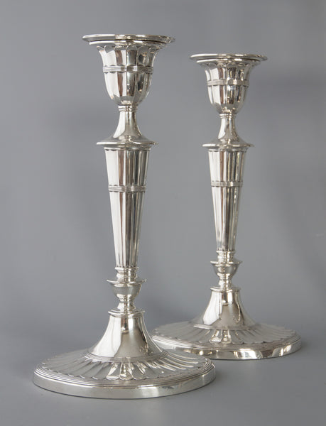 A Superb Victorian Silver Candelabra/Candlesticks Table Suite